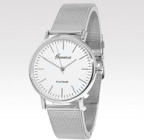Geneva dámske hodinky Medal strieborné - Glami.sk c973643c5df