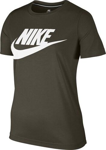 31dc02050e22 Nike W Nsw Essntl Tee Hbr hnedá M - Glami.sk