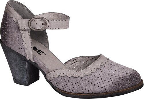 DKODE Berthe Light Grey (dámské páskové boty) - Glami.cz 4ee3561697