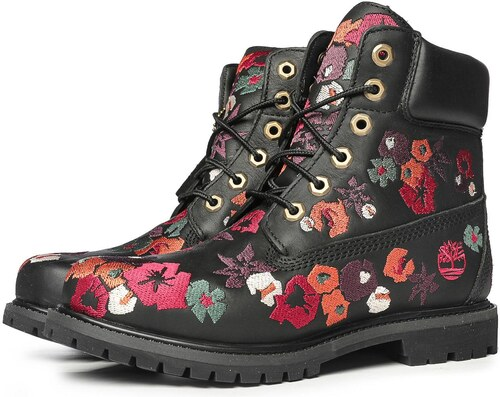 Timberland Women s 6-Inch Premium Embroidered Waterproof Boots ... 75809ce40fe
