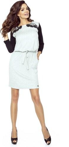 Dámské casualové šaty s krajkovou aplikací BERGAMO - Glami.cz 6038212c1b