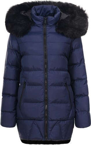 Női téli kabát Due Linee -Sötétkék - Glami.hu 3d87fe50c6