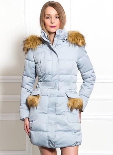 Női téli kabát Due Linee - Kék - Glami.hu 1ca05fc048