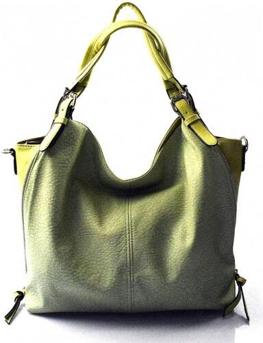 krásná zelená kabelka na rameno livia Valeria 23025 - Glami.cz db36c3ce34f