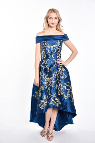 ccb2174782f4 Chi-Chi London tmavomodré plesové šaty - Glami.sk