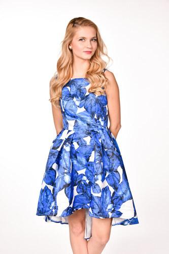 Chi-Chi London modrobiele spoločenské šaty - Glami.sk 08bd4eeb327