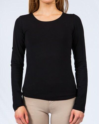 HAILYS Hailys dámské triko dlouhý rukáv Tina černé d4be7364aa