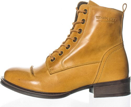 Ten Points Ten Points dámská kotníková obuv PANDORA okrová 17bba8a974