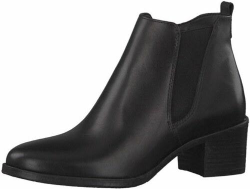 6db9b13fa79 TAMARIS Tamaris dámská kotníková obuv na podpatku 1-25043-29 černá ...