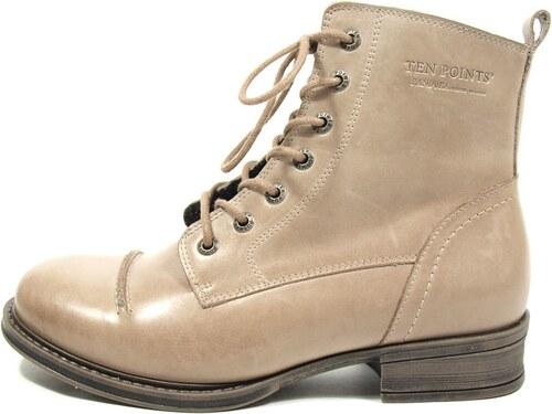 Ten Points Ten Points dámská kotníková obuv PANDORA taupe bc5f1a1ad6