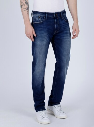 MAVI Mavi jeans pánské rifle MARCUS slim straight leg modré eb3321cc34
