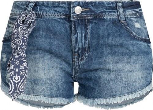 HAILYS Dámské jeansové kraťasy Hailys HILARY modré 7d74d70b0d