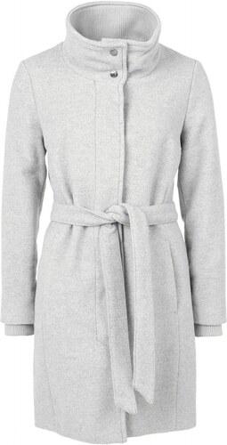 S.OLIVER s.Oliver dámský kabát trenčkot na zavazování šedý 4bf13e500b
