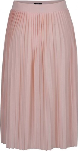 fd0c8af14b8 HAILYS Dámská plizovaná sukně Hailys Fiona růžová