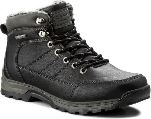 Outdoorová obuv GINO LANETTI - MP07-2930-02 Czarny 1 - Glami.sk e0112def8f