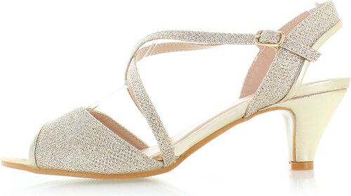 638dd84eebef Belle Women Zlaté sandále Honora - Glami.sk