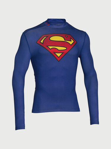Kompresní tričko Under Armour Superman Evo Comp Mock - Glami.cz c0896739048