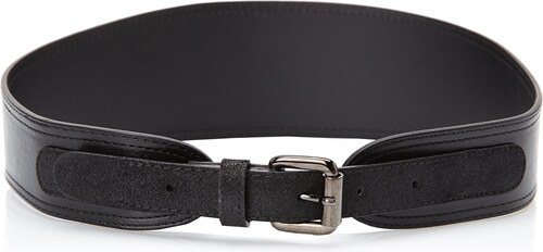 kooka 30835 ceinture uni femme noir fr 110 cm taille fabricant t2. Black Bedroom Furniture Sets. Home Design Ideas