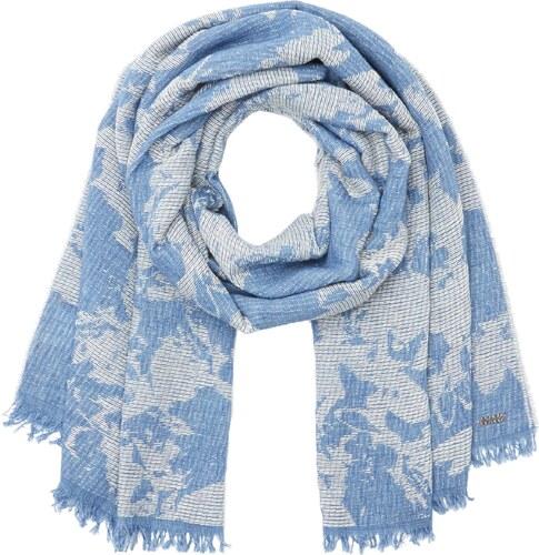 BOSS Naflage, Echarpe Femme, Bleu (Dark Blue), Unique (Taille Fabricant   STCK) fa717a4eb6c