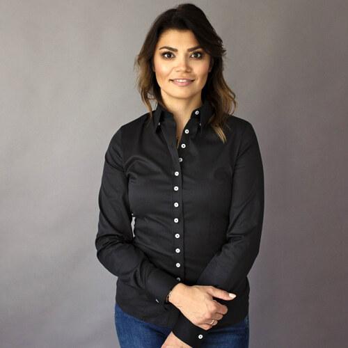 Dámská košile Willsoor 8417 v černé barvě 3a1441245c