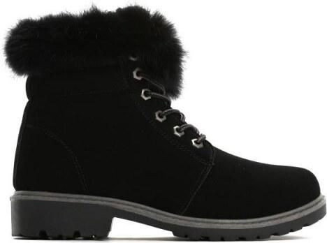 Dámské černé kotníkové boty Lio 6190 - Glami.cz 0016197199