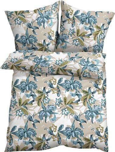 Bpc Living Bonprix Parure De Lit Flora Bleu Pour Maison