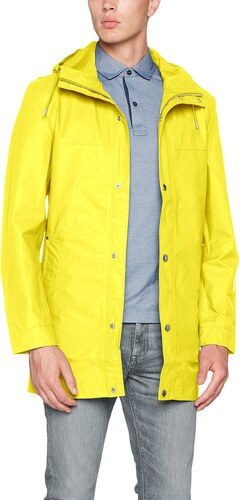 Tommy Hilfiger Herren Mantel Ranger Coat, Gelb (Blazing