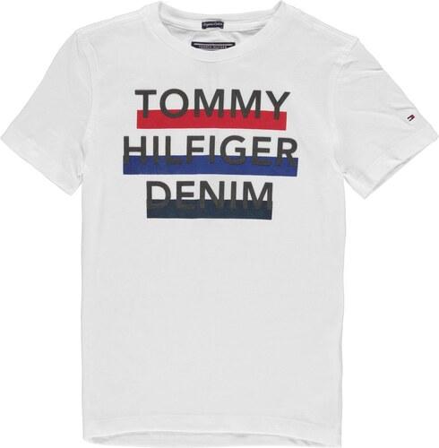 ed081fa482 Tommy Hilfiger Boys 3 Colour Logo T Shirt White - Glami.sk