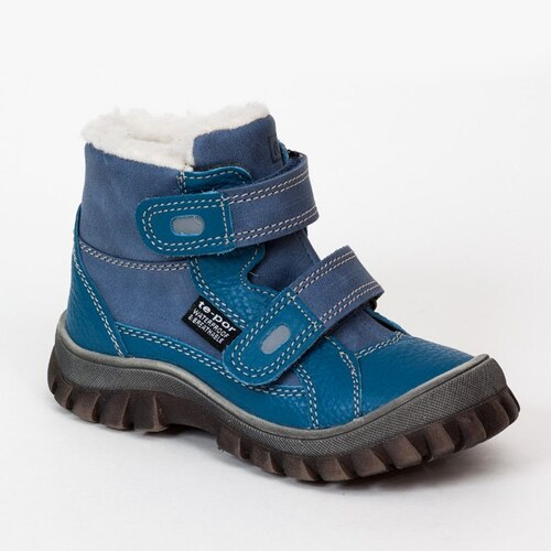 RAK Chlapecké zimní boty Yeti - modré - Glami.cz 877caaac5a