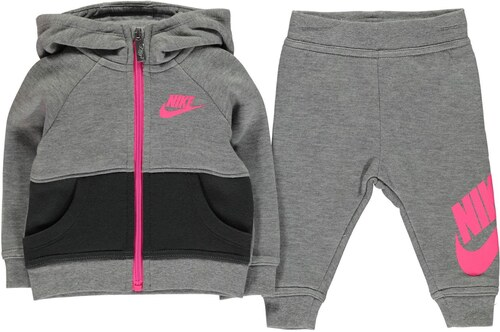 3ee1b6bfd941 Nike Futura Tracksuit Baby Girls Dark Grey Anthr - Glami.sk