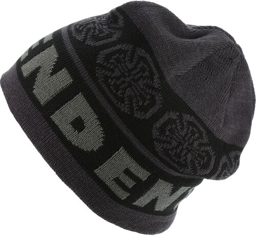 dea1b02f542 čepice Independent Woven Crosses - Black Gray - Glami.cz