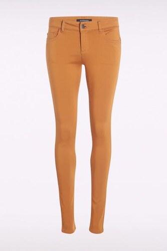 pantalon skinny femme taille standard jaune coton femme taille 34 bonobo. Black Bedroom Furniture Sets. Home Design Ideas