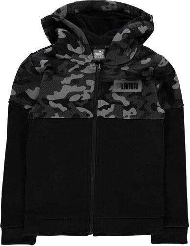 5fbc836b0c4a Detská mikina Puma Camo Full Zip Jacket Junior Boys - Glami.sk