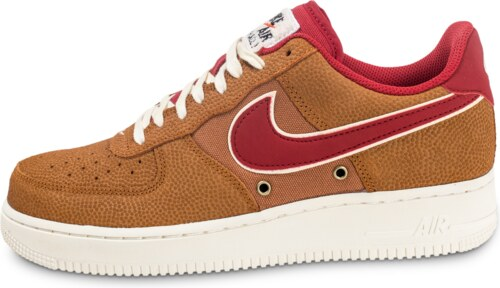 brand new cd10c 45952 Nike Baskets Air Air Air Force 1  07 Lv08 Basketball Leather Marron Homme  be65ee