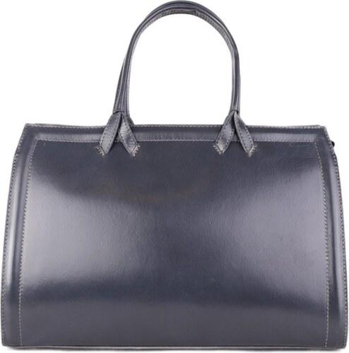 Talianske kožené kabelky veľké biznisové sivé Orchidea - Glami.sk 7b57f1ec9b