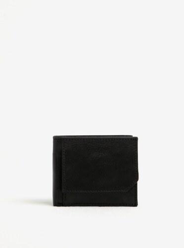 044e9b10f Čierna pánska kožená peňaženka Elega - Glami.sk