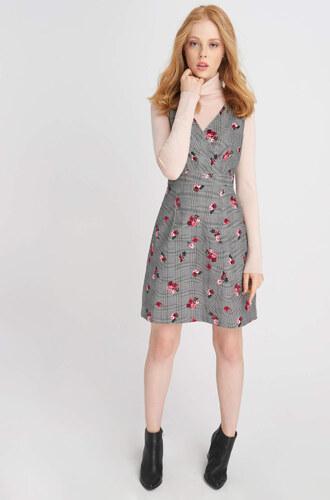 Orsay Jemně kárované šaty s růžičkami - Glami.cz 27bc915a5ef