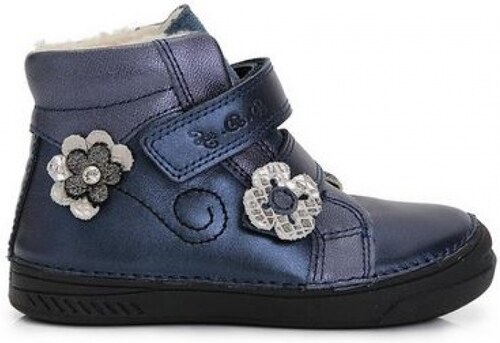 D.D.STEP zimná kožená obuv 040-401BM royal blue - Glami.sk 284b589d897