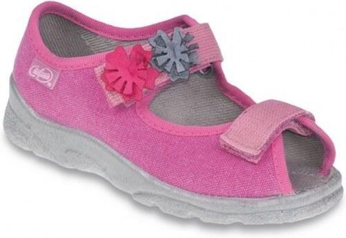 48e4d099a507 Textilné dievčenské sandále BEFADO 969Y102 - Glami.sk