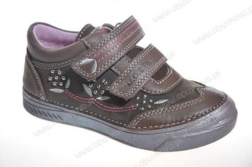 D.D.STEP kožená obuv 040-17L chocolate - Glami.sk 408bffdf47f