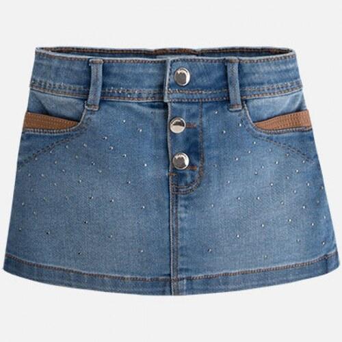 ff2929904420 MAYORAL dievčenská rifľová sukňa 4916-049 basic - Glami.sk