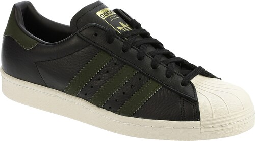 427b0a6cd37 boty adidas Originals Superstar 80S - Core Black Night Cargo Core Black