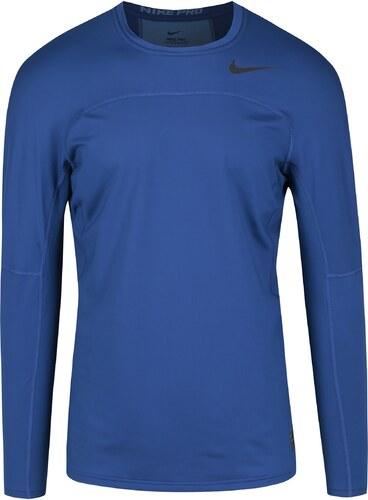 Tmavomodré pánske funkčné tričko s dlhým rukávom Nike - Glami.sk 8d0f2d5de4d