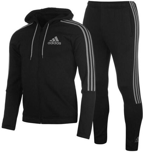 Adidas Three Stripe Jogger Suit férfi melegítő szett - Glami.hu a3301fad5e0