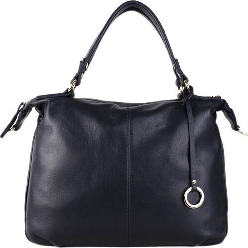 Talianske kožené luxusné kabelky cez plece modré Edviga - Glami.sk ed1f9d2877d