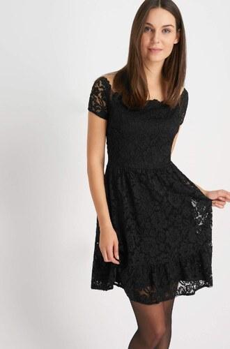 d9c4c83978ad Orsay Krátké krajkové šaty s dekoltem Carmen - Glami.cz