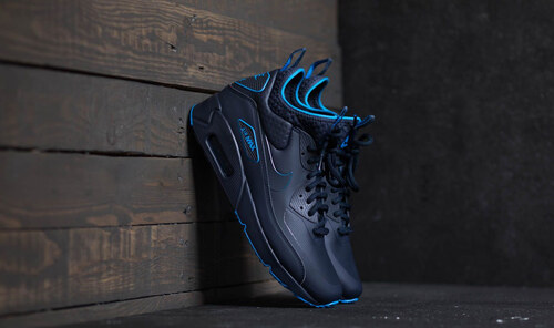 Nike Air Max 90 Ultra Mid Winter SE Obsidian  Obsidian-Thunder Blue ... ff6ecc1e717