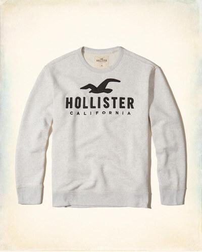 Hollister Co. Hollister pánská mikina bez kapuce - Glami.cz e9a504af8a2