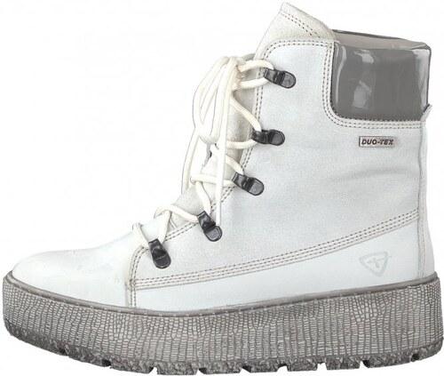 c0dfded9cd5 Tamaris dámská kotníčková obuv 40 bílá - Glami.cz