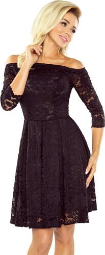 10211d1c0551 NUMOCO Dámské krajkové šaty typu CARMEN - Glami.cz